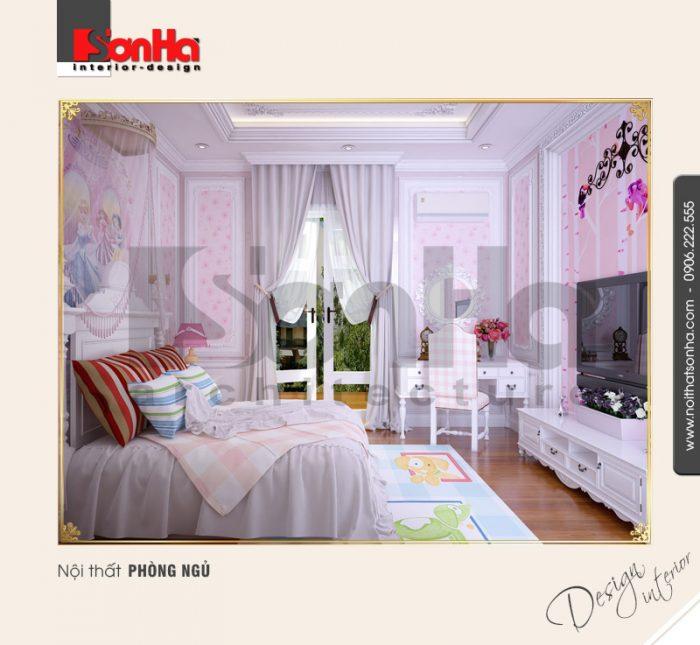 5.Thiết kế nội thất phòng ngủ dễ thương