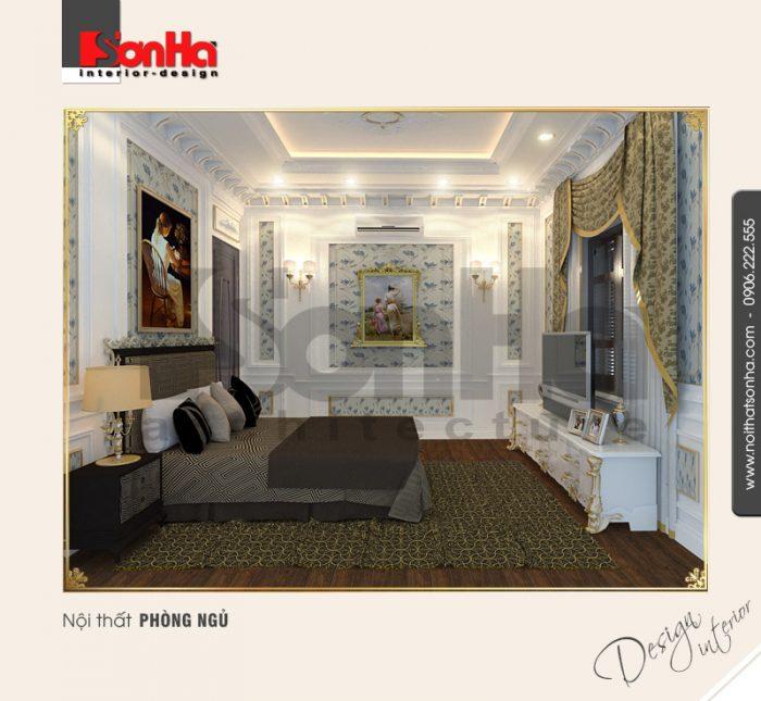 5.Thiết kế nội thất phòng ngủ đẹp tinh tế