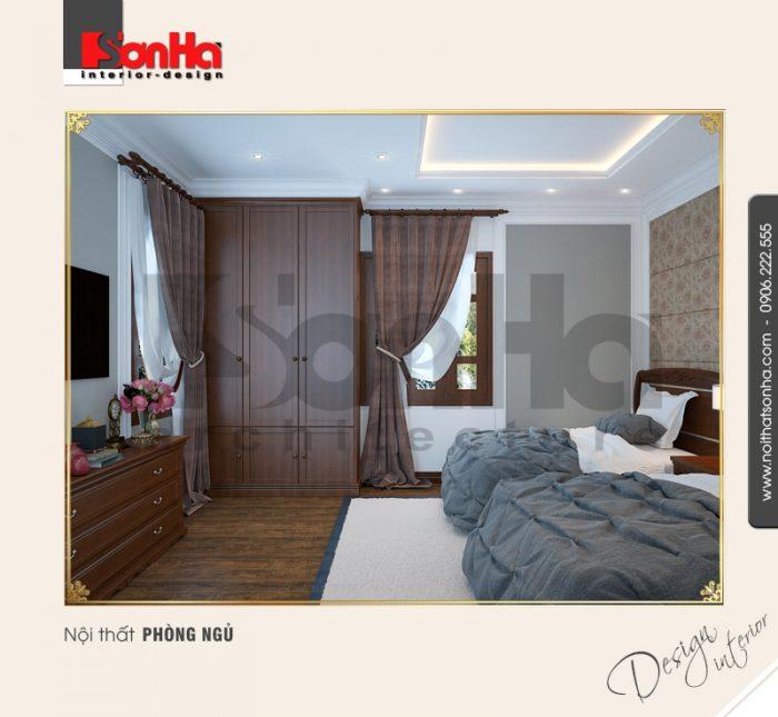 5.Thiết kế nội thất phòng ngủ đôi đơn giản