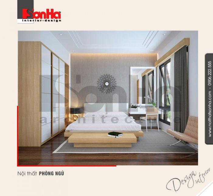 5.Thiết kế nội thất phòng ngủ đơn giản