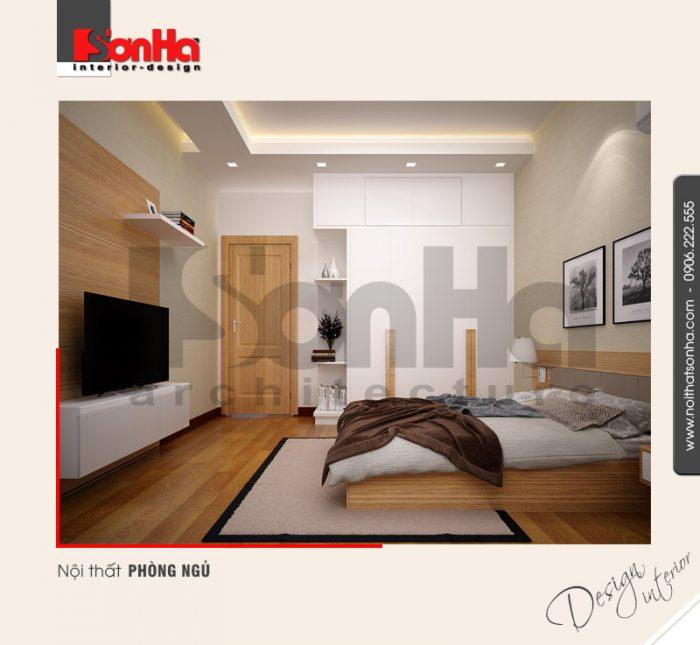 5.Thiết kế nội thất phòng ngủ hiện đại đẹp