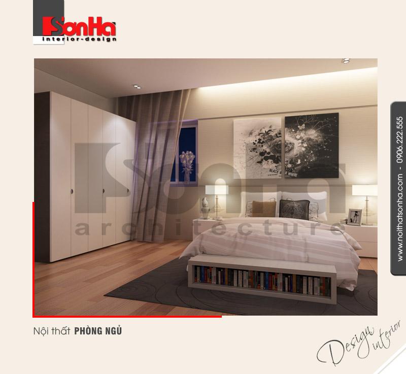5.Thiết kế nội thất phòng ngủ hiện đại đơn giản tại hải phòng NT NOD 0133