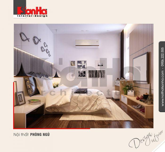 5.Thiết kế nội thất phòng ngủ hiện đại tại hải phòng NT BTD 0041
