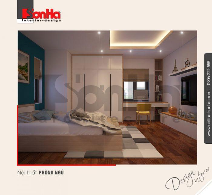 5.Thiết kế nội thất phòng ngủ nhà ấn tượng tại hải phòng NT NOD 0127