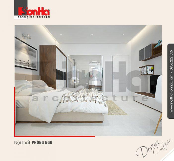 5.Thiết kế nội thất phòng ngủ nhà ống hiện đại nhất quảng ninh NT NOD 0124