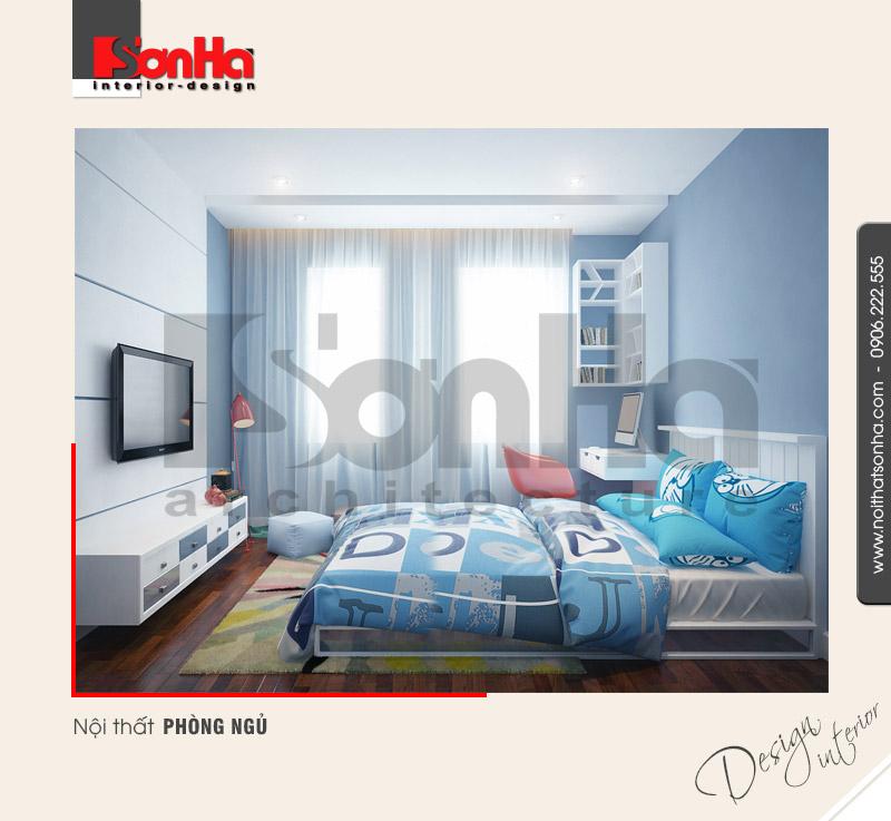 5.Thiết kế nội thất phòng ngủ nhà ống hiện đại tại hải phòng NT NOD 0130