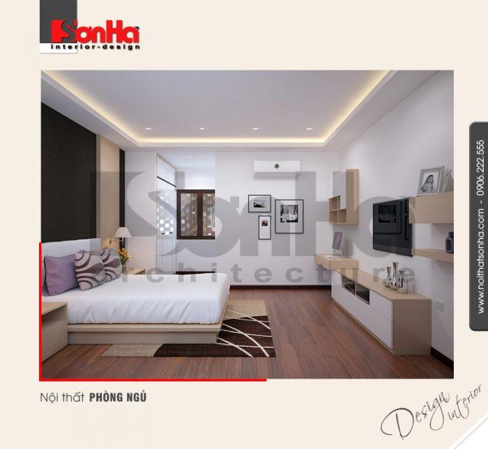 5.Thiết kế nội thất phòng ngủ nhà phố 4 tầng tại hải phòng NT NOD 0116