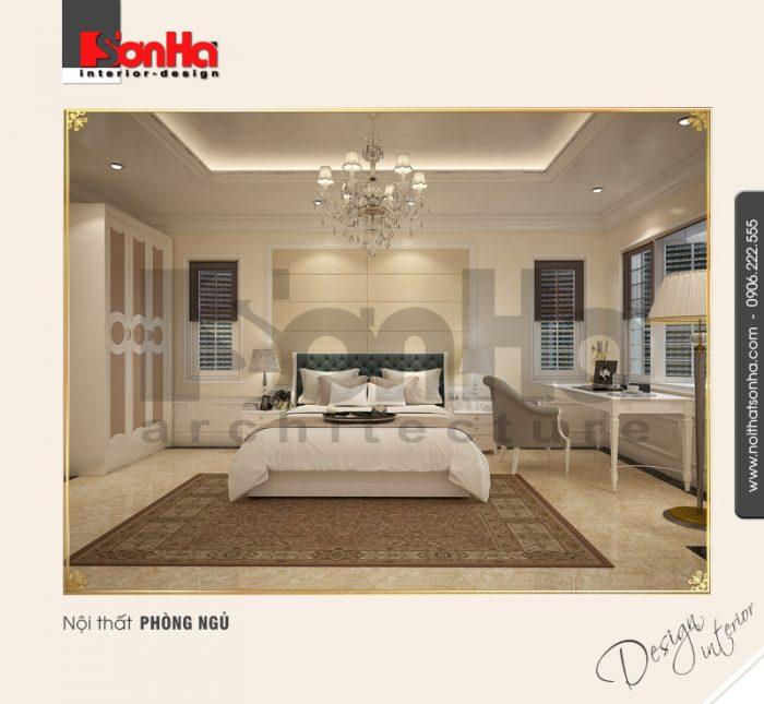 5.Thiết kế nội thất phòng ngủ sang trọng
