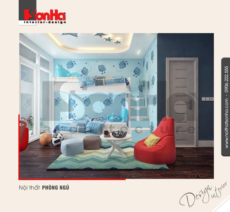 5.Thiết kế nội thất phòng ngủ tiện nghi dành cho nhà ống NT NOD 0132