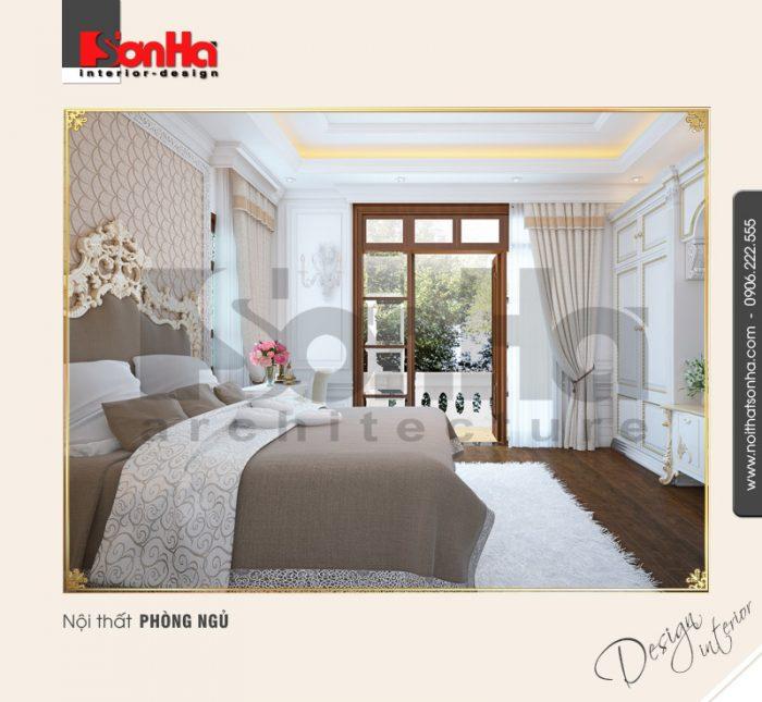 5.Thiết kế nội thất phòng ngủ trang nhã