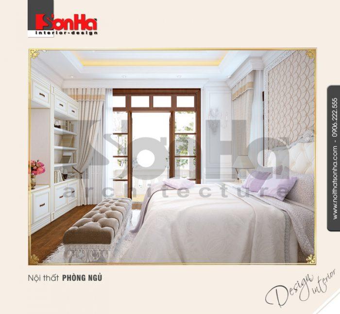 6.Mẫu nội thất phòng ngủ bố trí bắt mắt