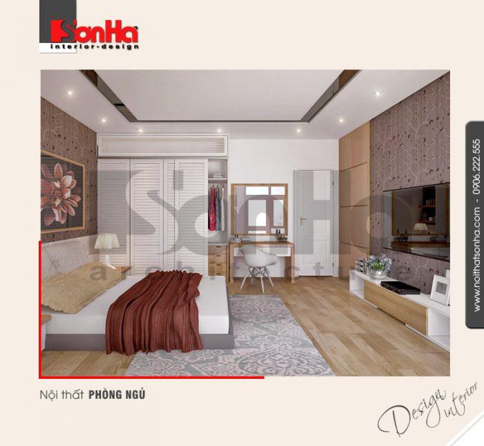 6.Mẫu nội thất phòng ngủ hiện đại đơn giản tại hải phòng NT NOD 0122