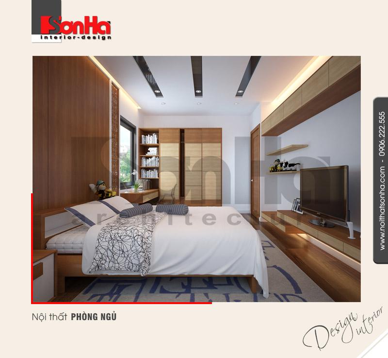 6.Mẫu nội thất phòng ngủ hiện đại tại quảng ninh NT BTD 0040