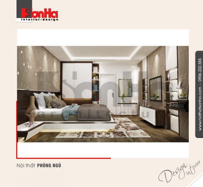 6.Mẫu nội thất phòng ngủ hiện đại tinh tế