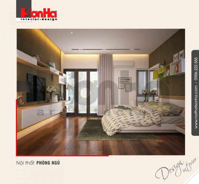 6.Mẫu nội thất phòng ngủ nhà ống đẹp và hiện đại tại hải phòng NT NOD 0127