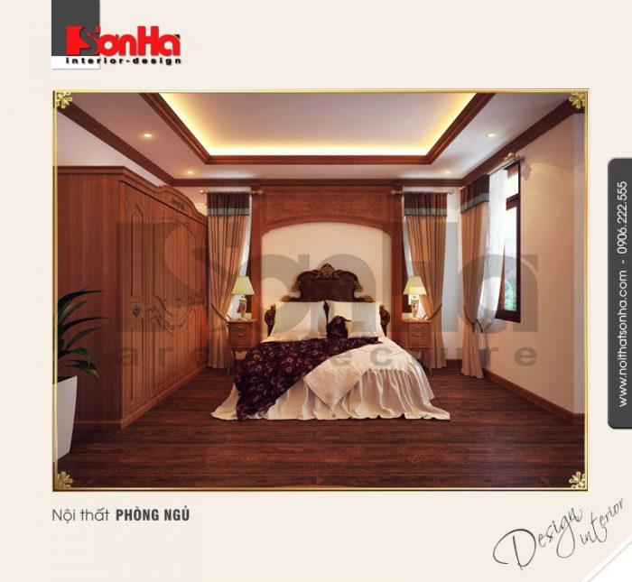 6.Mẫu nội thất phòng ngủ sang trọng