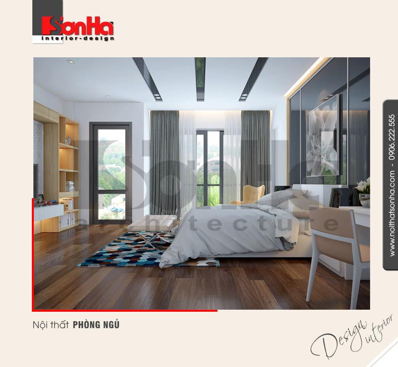 6.Mẫu nội thất phòng ngủ sang trọng hiện đại