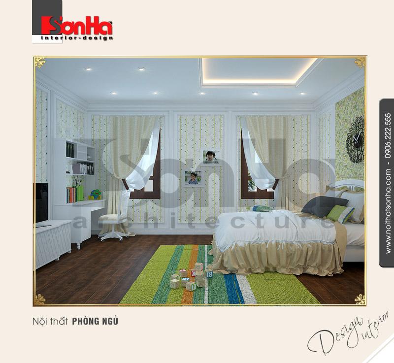 6.Mẫu nội thất phòng ngủ trẻ trung