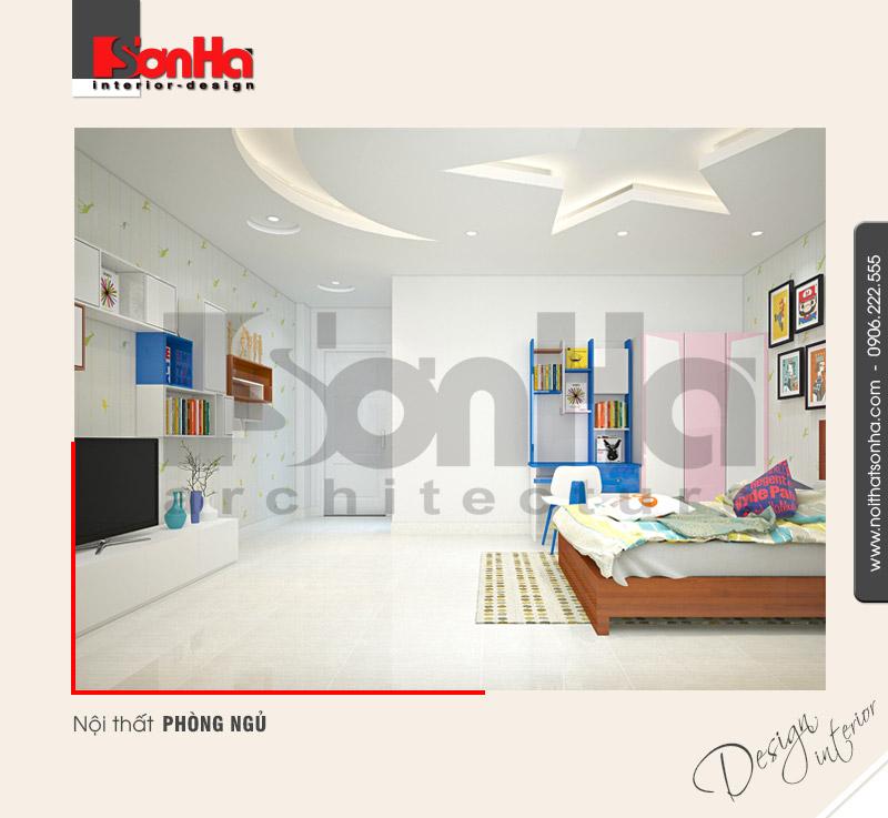 6Trang trí nội thất phòng ngủ nhà ống hiện đại tại quảng ninh NT NOD 0124