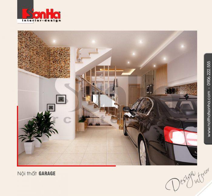 7.Thiết kế nội thất garage đơn giản