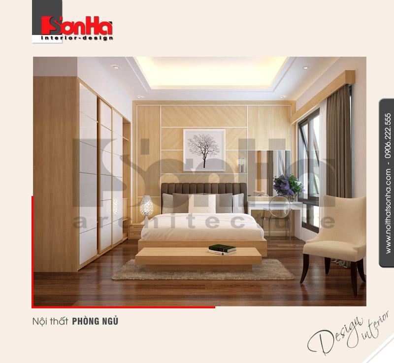 7.Thiết kế nội thất phòng ngủ bố trí đơn giản đẹp
