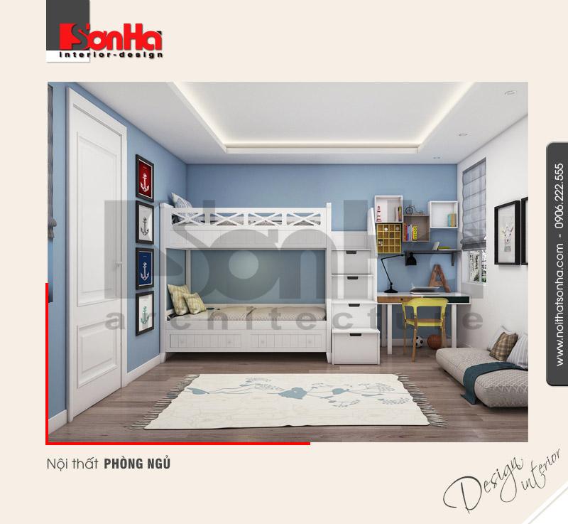 7.Thiết kế nội thất phòng ngủ cá tính hiện đại