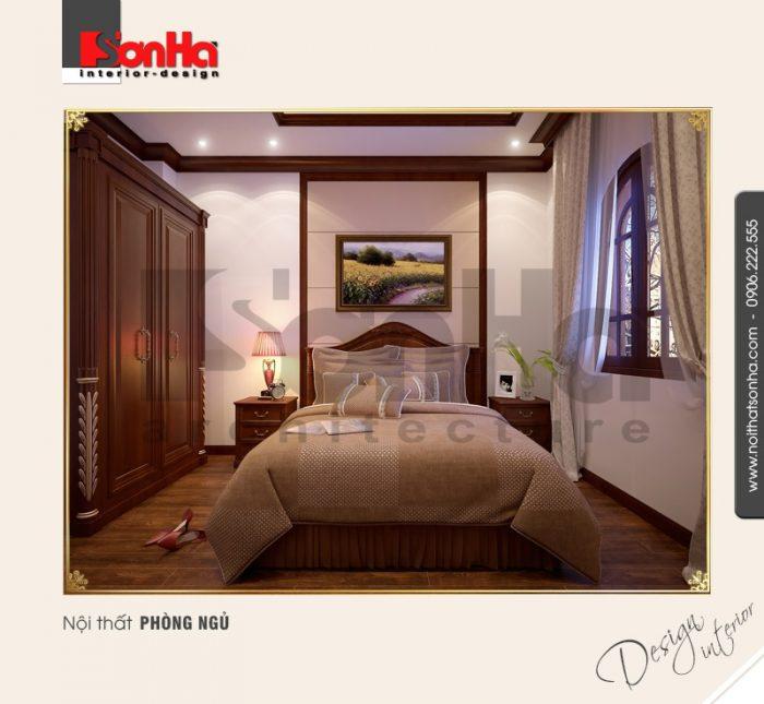 7.Thiết kế nội thất phòng ngủ cổ điển
