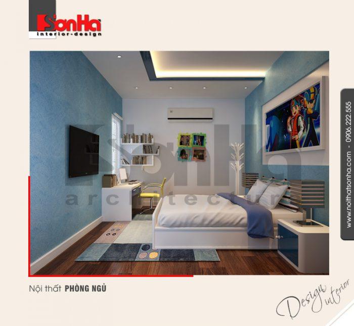 7.Thiết kế nội thất phòng ngủ hiện đại tại hải phòng NT BTD 0041