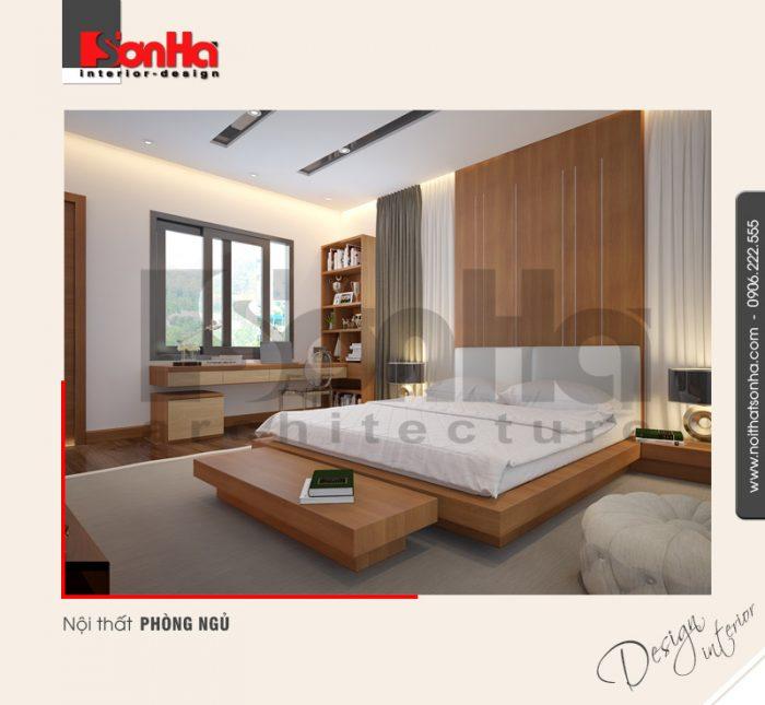 7.Thiết kế nội thất phòng ngủ hiện đại tại quảng ninh NT BTD 0040