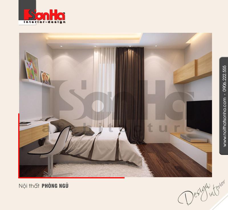 7.Thiết kế nội thất phòng ngủ nhà ống 3 tầng hiện đại tại hải phòng NT NOD 0125
