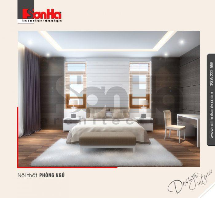7.Thiết kế nội thất phòng ngủ nhẹ nhàng