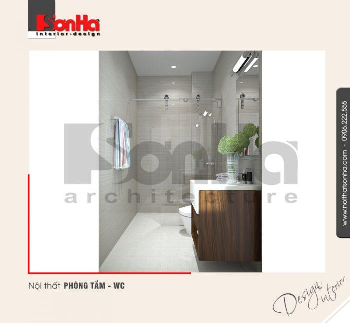 7.Thiết kế nội thất phòng tắm wc nhà ống 6 tầng tại quảng ninh NT NOD 0124