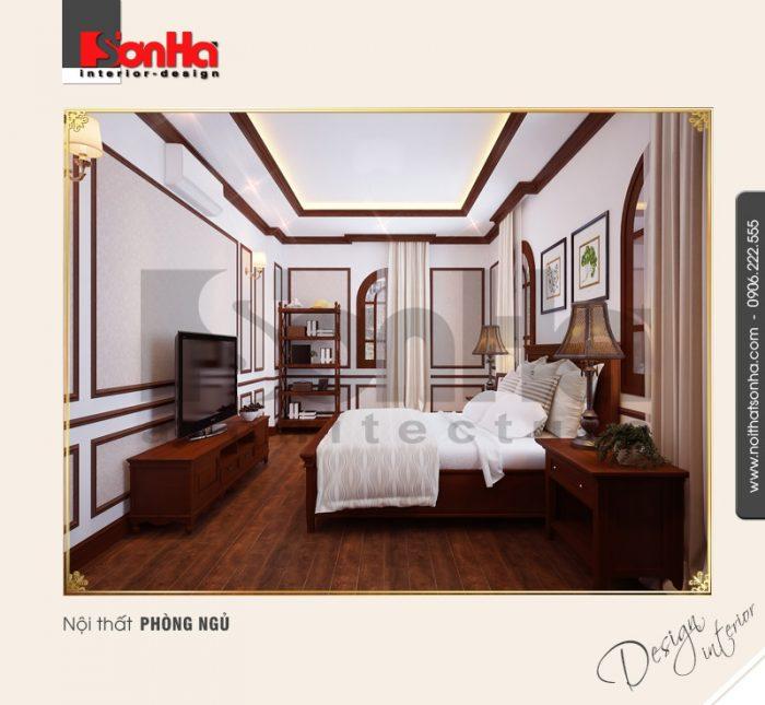 8.Mẫu nội thất phòng ngủ bố trí hợp lý