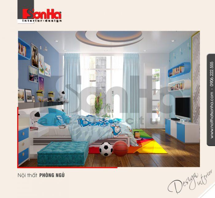 8.Mẫu nội thất phòng ngủ cá tính