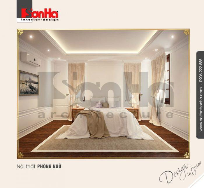 8.Mẫu nội thất phòng ngủ màu sắc nhẹ nhàng