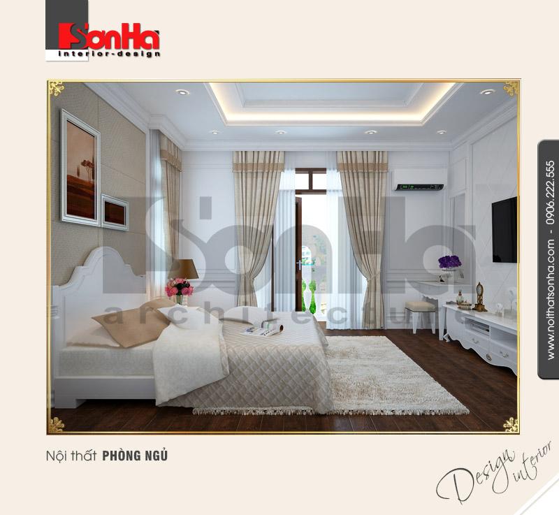 8.Mẫu nội thất phòng ngủ nhẹ nhàng