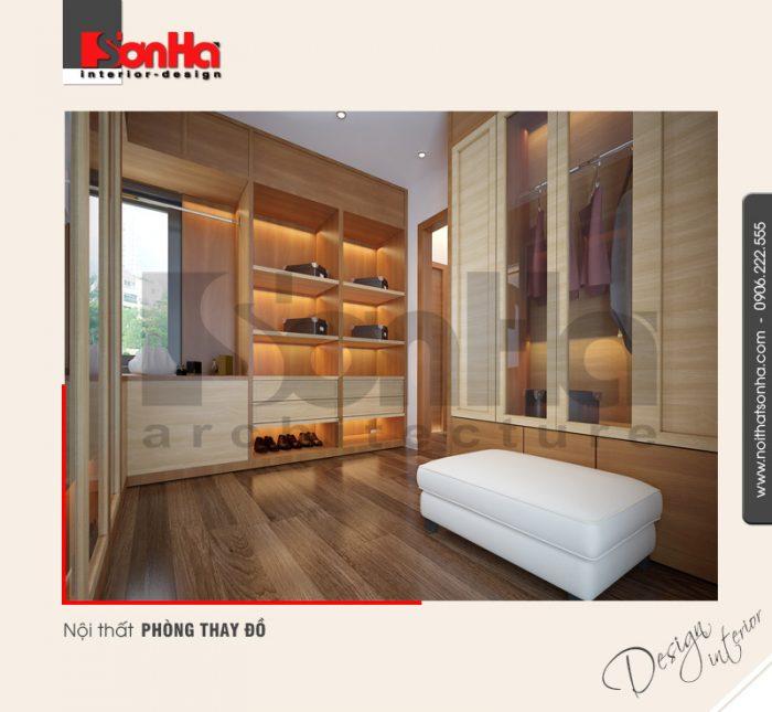8.Mẫu nội thất phòng thay đồ hiện đại tại quảng ninh NT BTD 0040