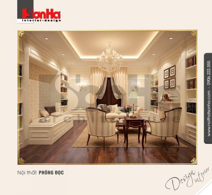 9.Thiết kế nội thất phòng đọc sang trọng