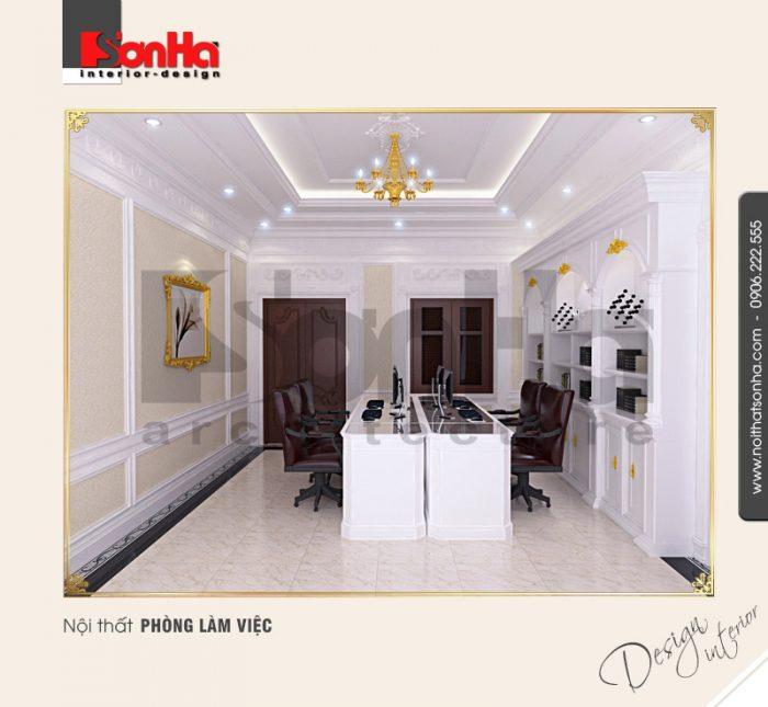 9.Thiết kế nội thất phòng làm việc bắt mắt