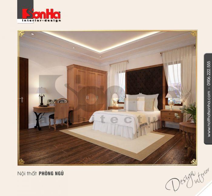 9.Thiết kế nội thất phòng ngủ bố trí hợp lý