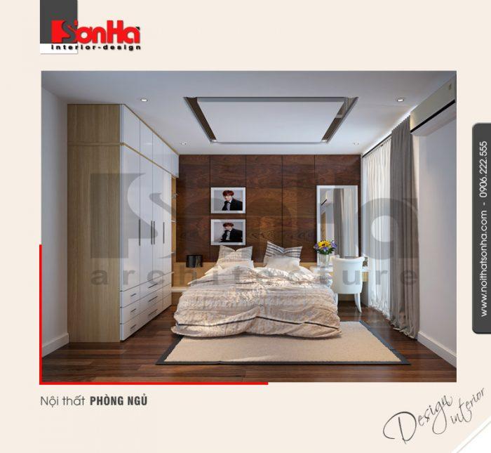 9.Thiết kế nội thất phòng ngủ nhẹ nhàng