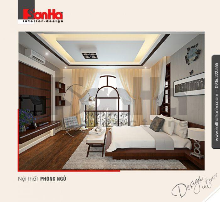 9.Thiết kế nội thất phòng ngủ tinh tế sang trọng