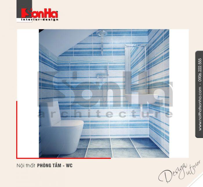 9.Thiết kế nội thất phòng tắm wc hiện đại của nhà phố tại quảng ninh NT NOD 0120
