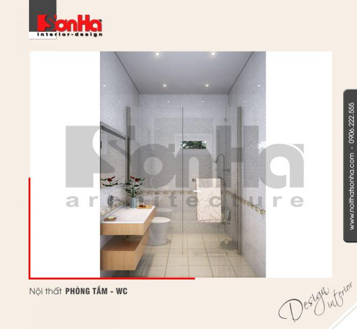 9.Thiết kế nội thất phòng tắm wc tiện nghi hiện đại tại hải phòng NT NOD 0122
