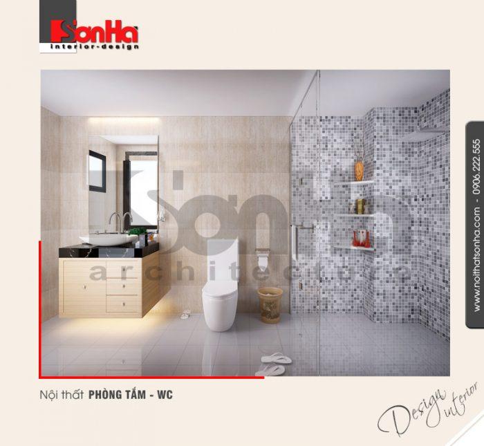 9.Thiết kế nội thất phòng tắm wc trang trí đẹp
