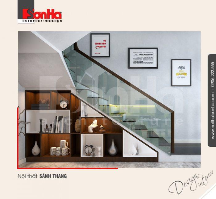 9.Thiết kế nội thất sảnh thang hiện đại tại hải phòng NT BTD 0039