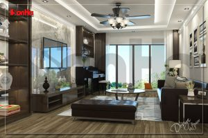 BIA Bày trí nội thất đẹp cho nhà ống xu hướng hot nhất tại Hà Nội NT NOD 0175