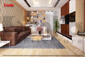 BIA Bày trí nội thất nhà phố đơn giản hiện đại tại Quảng Ninh NT NOD 0120
