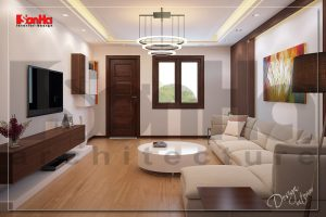 BIA Gợi ý bày trí nội thất nhà phố đẹp 4 tầng hiện đại tại hải phòng NT NOD 0116