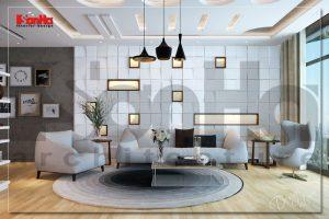 BIA Mẫu thiết kế nội thất nhà phố hiện đại và ấn tượng tại Hải Phòng NT NOD 0130